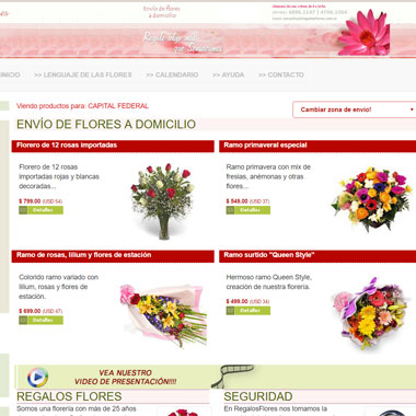 diseño web php ecommerce