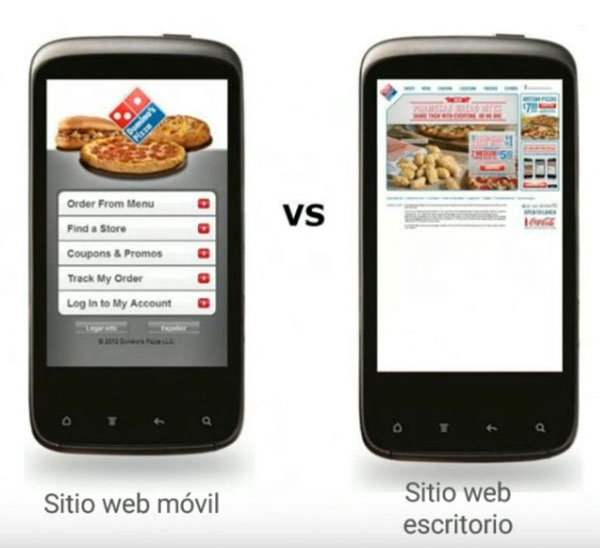 diseño web adaptado a moviles