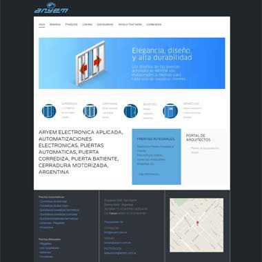 Sitio desarrollado en Joomla