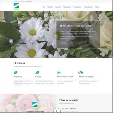 Sitio desarrollado en WordPress - Posicionamiento SEO - Google Ads