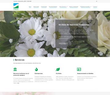 Funeraria Sapienza sitio web