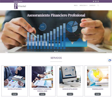Vision Fractal sitio web